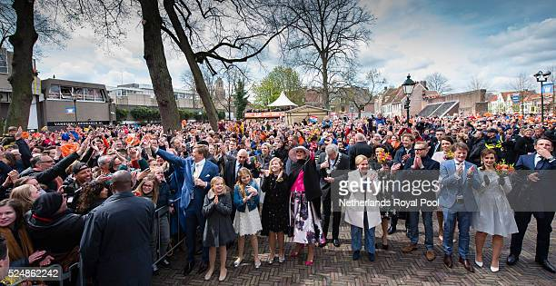 King WillemAlexander of The Netherlands Princess Ariane of The Netherlands Princess Alexia of The Netherlands Crown Princess CatharinaAmalia of The...