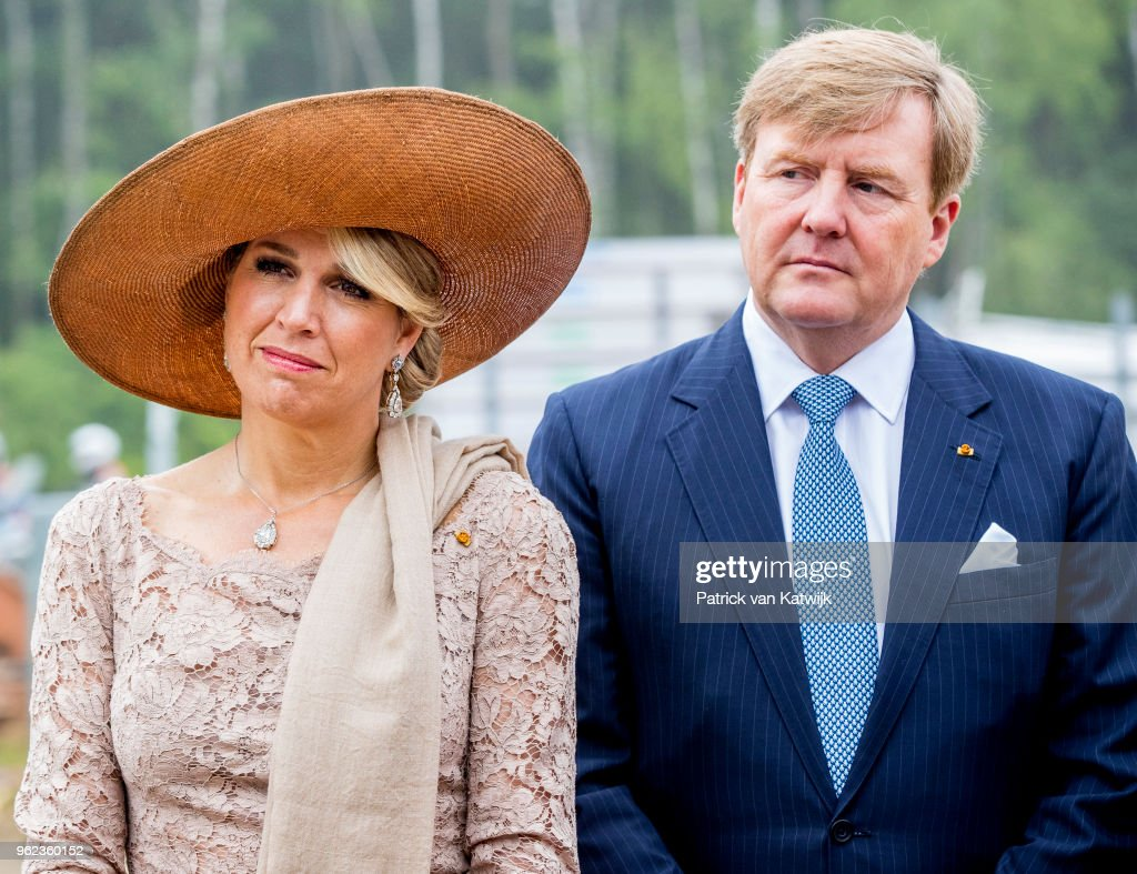 King And Queen Of The Netherlands Visit Luxembourg: Day Three : News Photo
