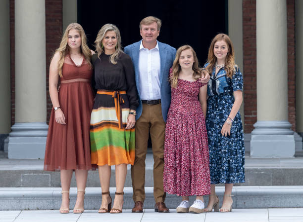 NLD: Dutch Royal Family Summer Photo Call In The Hague