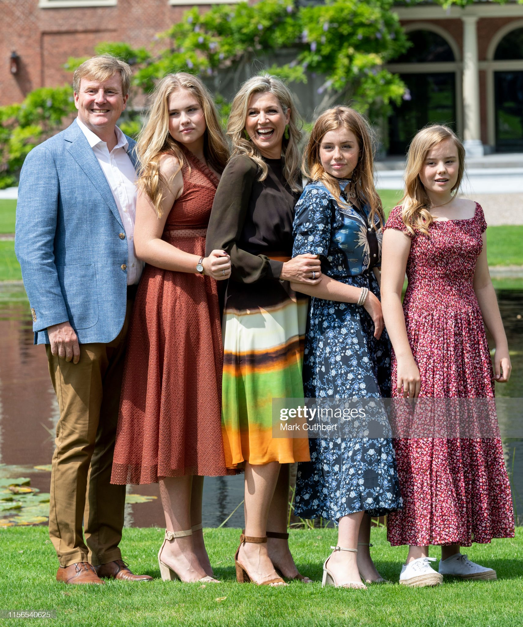 Dutch Royal Family Summer Photo Call In The Hague : News Photo