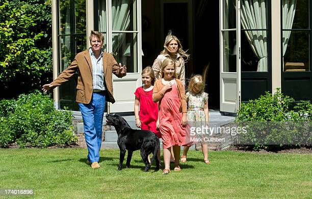 King WillemAlexander of the Netherlands Queen Maxima of the Netherlands Crown Princess CatharinaAmalia of the Netherlands Princess Alexia of the...