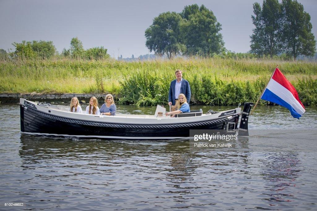 Dutch Royal Family Summer Photo Call : Nieuwsfoto's