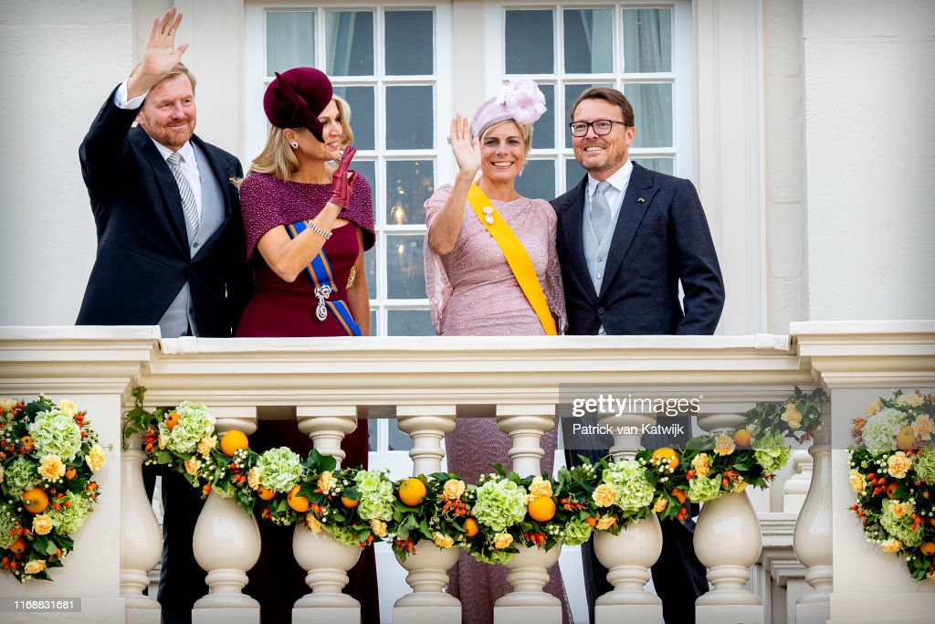 Dutch Royal Family Attends Prinsjesdag 2019 In The Hague : Nieuwsfoto's