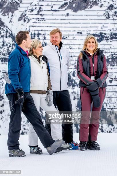 King Willem-Alexander of The Netherlands, Queen Maxima of The Netherlands, Prince Constantijn of The Netherlands, Princess Laurentien of The...