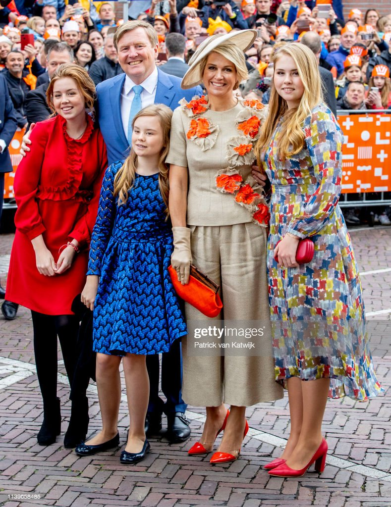 The Dutch Royal Family Attend King's Day In Amersfoort : News Photo