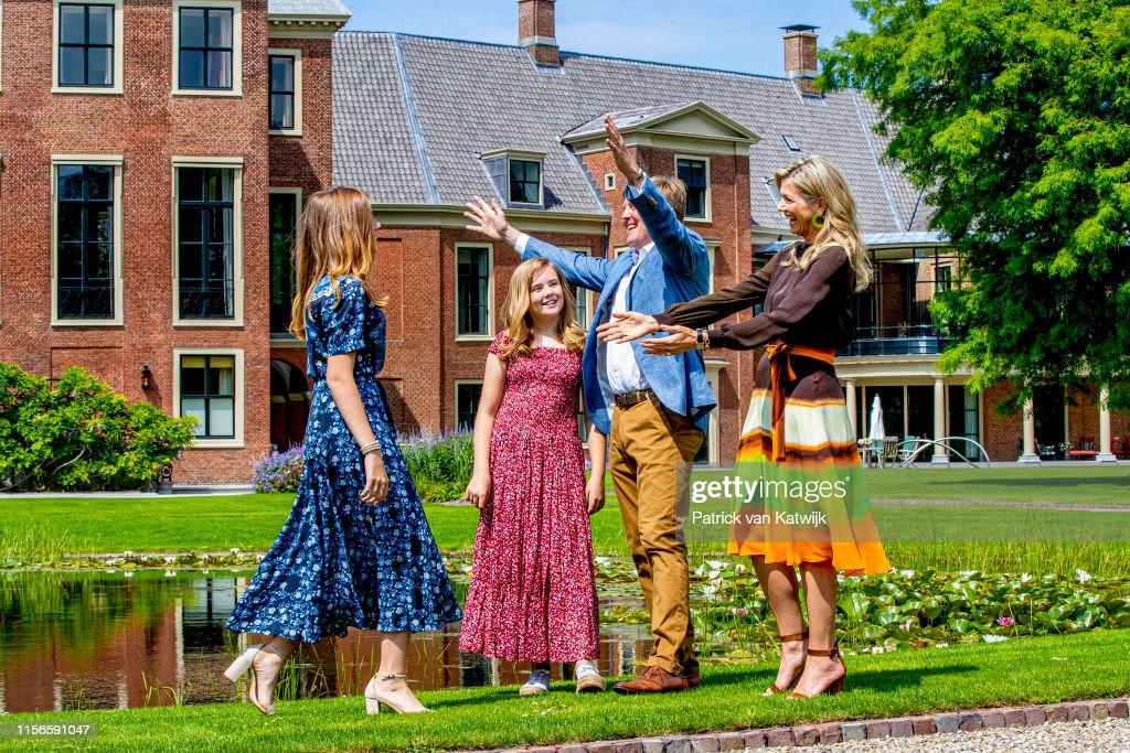 Dutch Royal Family Summer Photo Call In The Hague : Nieuwsfoto's