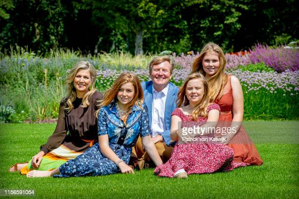 King Willem-Alexander of The Netherlands , Queen Maxima of The Netherlands, Princess Amalia of The Netherlands, Princess Alexia of The Netherlands...