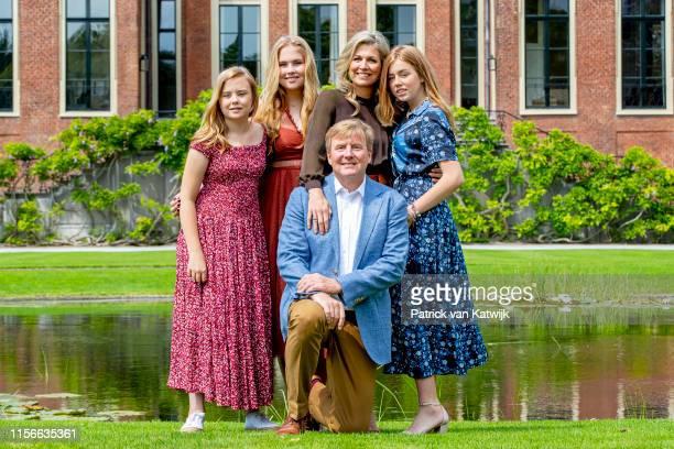 King Willem-Alexander of The Netherlands , Queen Maxima of The Netherlands, Princess Amalia of The Netherlands, Princess Alexia of The Netherlands...