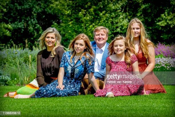 King WillemAlexander of The Netherlands Queen Maxima of The Netherlands Princess Amalia of The Netherlands Princess Alexia of The Netherlands and...