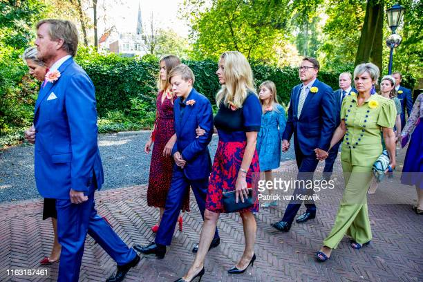 King Willem-Alexander of The Netherlands, Queen Maxima of The Netherlands, Princess Mabel of The Netherlands, Count Claus-Casimir, Countess Eloise,...