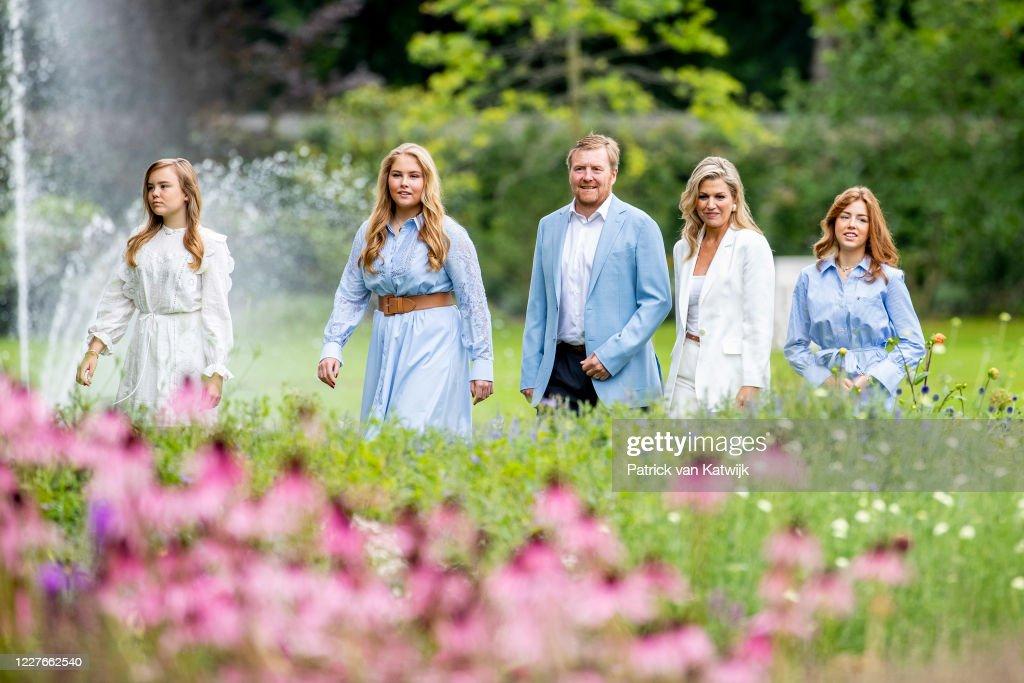 Dutch Royal Family Summer Photosession : News Photo