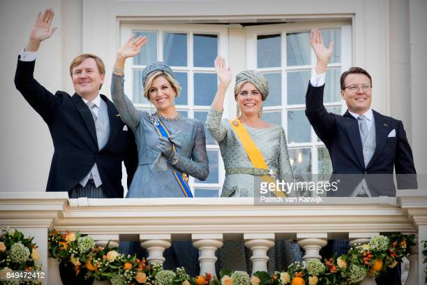 King WillemAlexander of The Netherlands Queen Maxima of The Netherlands Princess Laurentien of The Netherlands and Prince Constantijn of the...