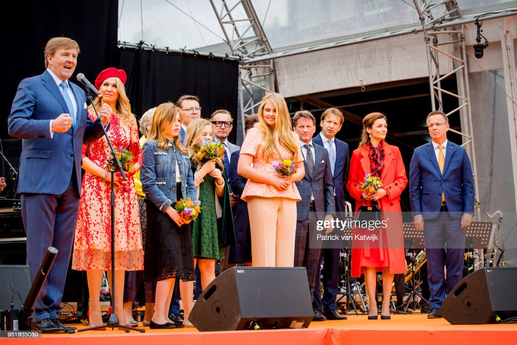 Kingsday in Groningen : News Photo