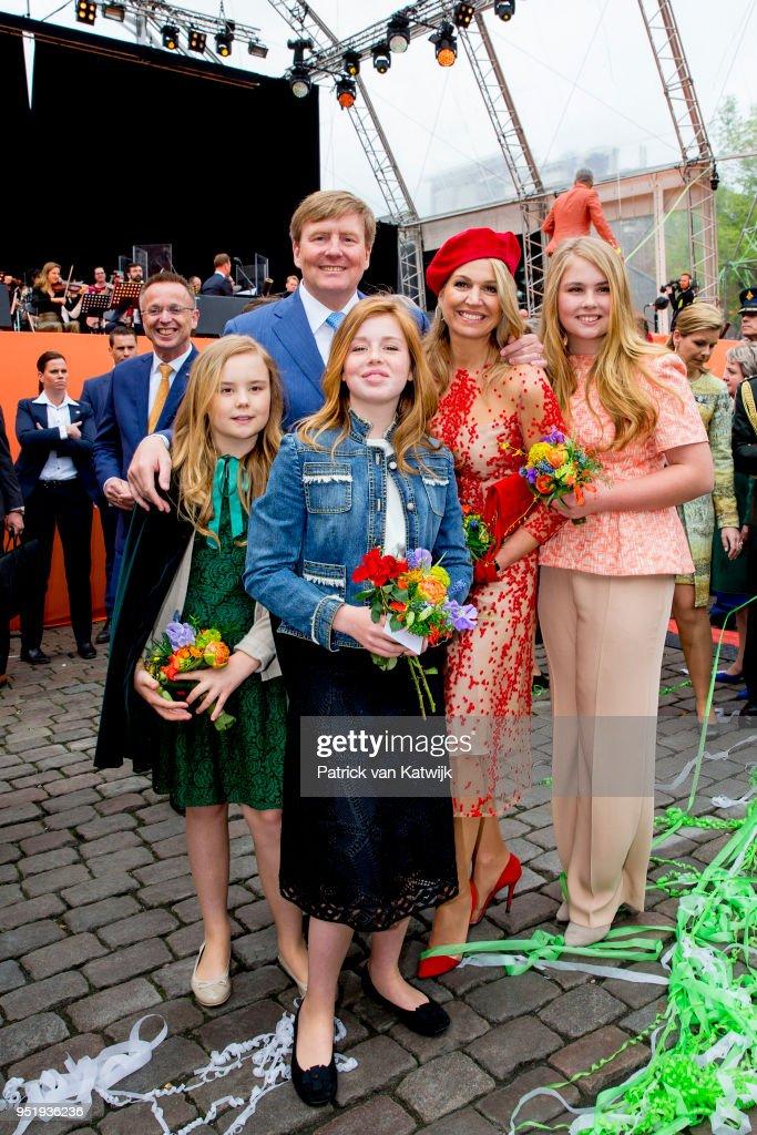 Kingsday in Groningen : News Photo