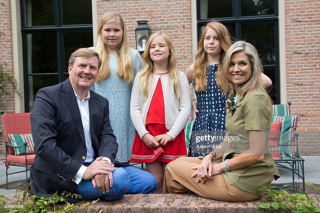 Dutch Royal Family Summer Photocall : News Photo