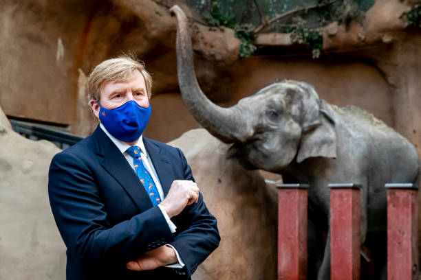 NLD: King Willem-Alexander Of The Netherlands Visits The Blijdorp Zoo In Rotterdam