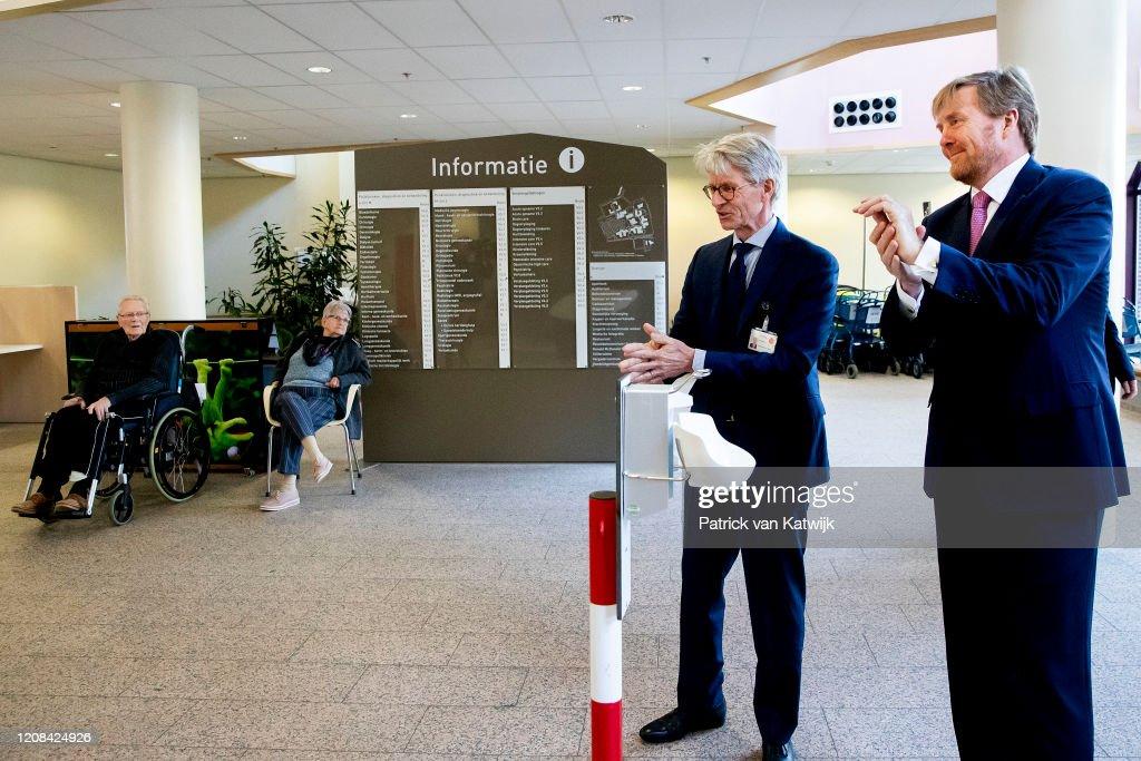 The Netherlands Faces The Coronavirus : Nieuwsfoto's