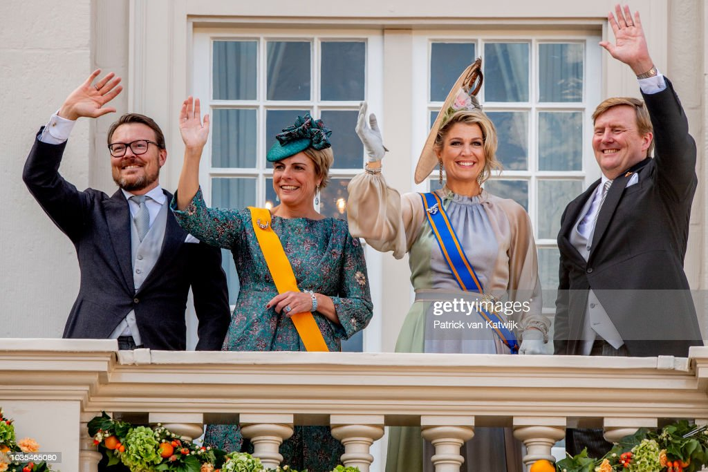 Dutch Royal family Attends The Parliamental Year Prinsjesdag Opening In The Hague : News Photo