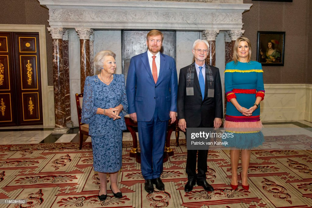 King Willem-Alexander Of The Netherlands And Queen Maxima Of The Netherlands Attend The Eramus Prize : News Photo