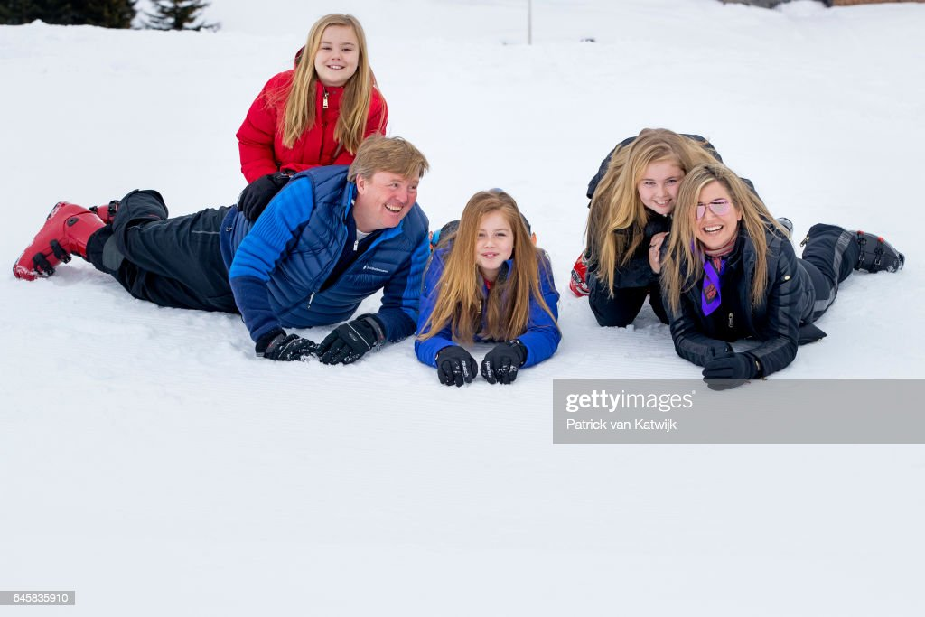 The Dutch Royal Family Hold Annual Photo Call In Lech : News Photo