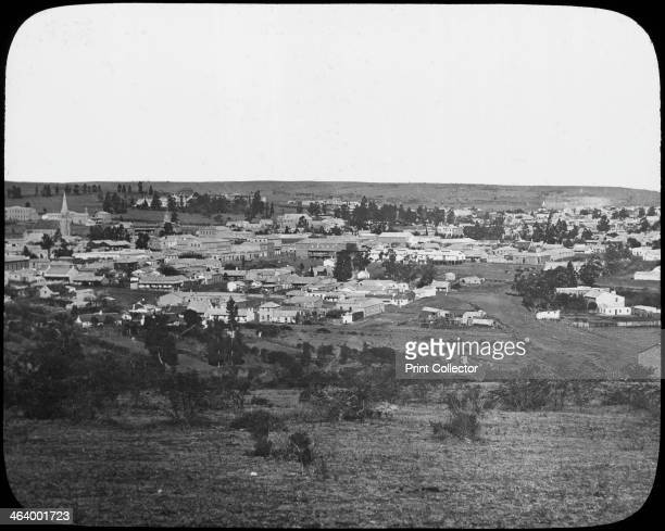 King William's Town South Africa c1890 From a series of lantern slides on the South African diamond and gold mines