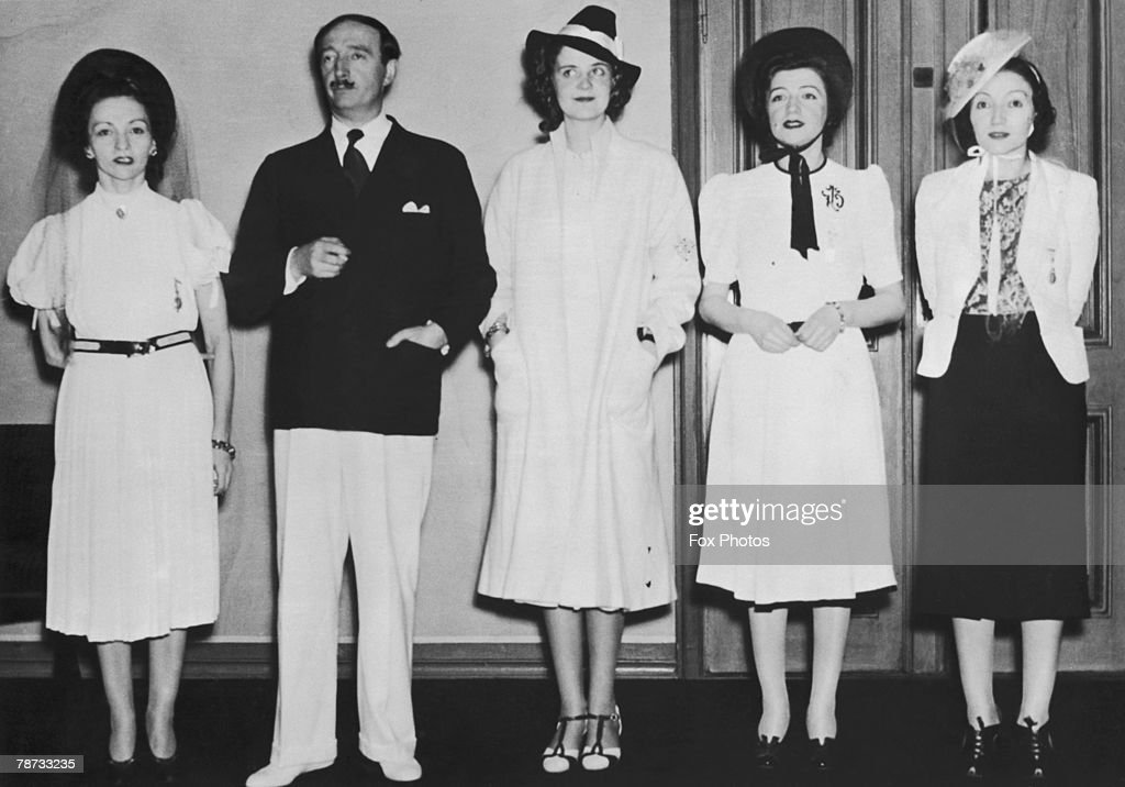 King Zog In Exile : News Photo