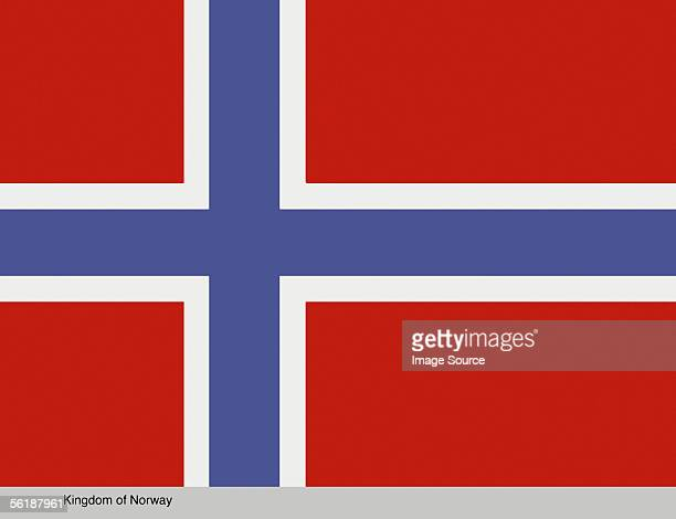 kingdom of norway - norwegian flag stock pictures, royalty-free photos & images