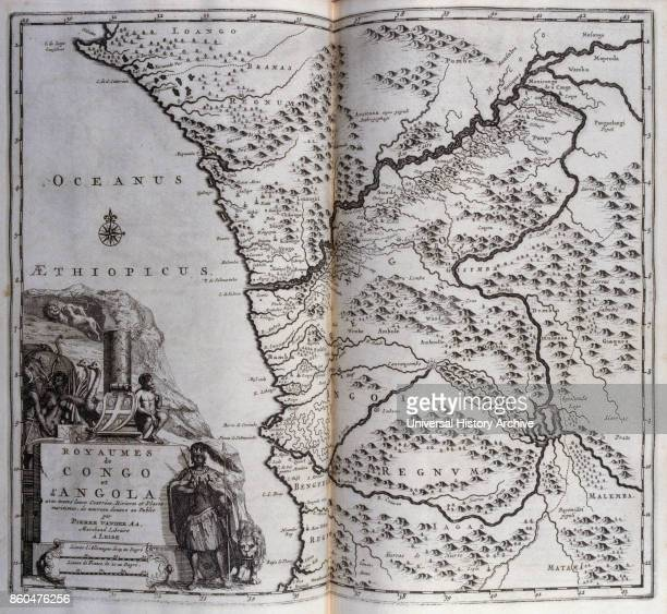 Kingdoms of Congo and Angola in Central Africa 1727 From voyages made to Persia and India 1727 by Johan Albrecht de Mandelslo seventeenthcentury...