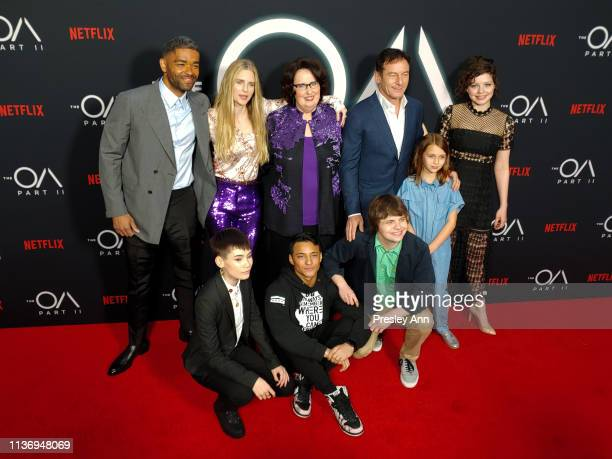 Kinglsey Ben-Adir, Ian Alexander, Brit Marling, Phyllis Smith, Brandon Perea, Jason Isaacs, Brendan Meyer, Zoey Todorovsky and Chloë Levine attend...