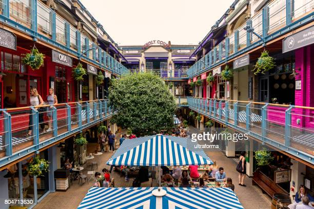 Kingly Court in Carnaby, London