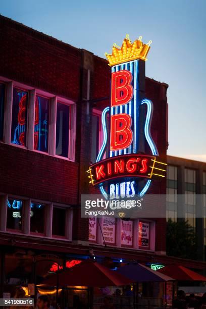 B.B. King's Blues Club on Beale Street, Memphis, TN