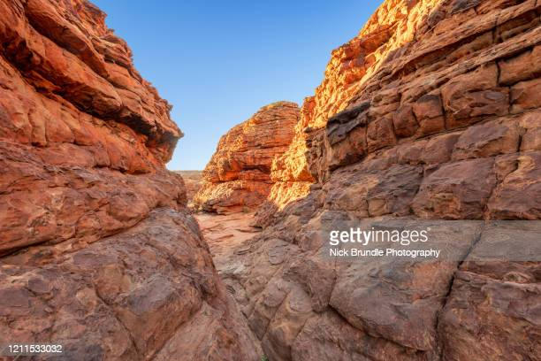 kings canyon, northern territory, australia - alice springs stock pictures, royalty-free photos & images