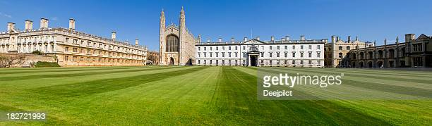 Kings College and Chapel in Cambridge UK