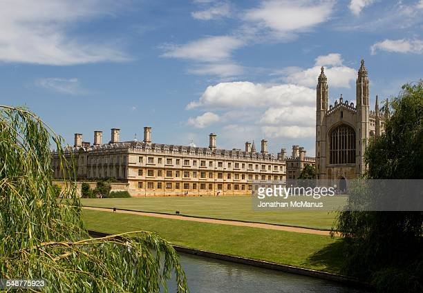Kings College Cambridge from the bridge over the River Cam Taken on 4 July 2014