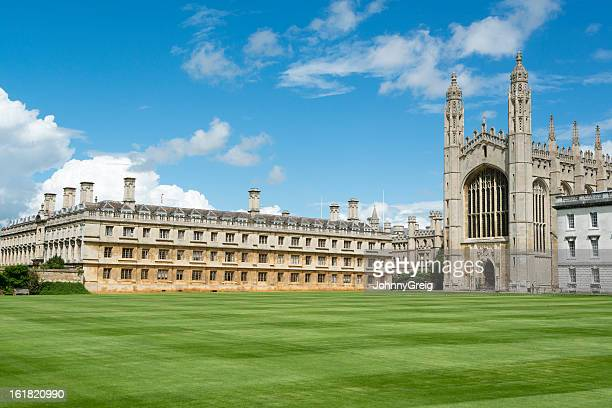 king's college, cambridge - cambridge university stock pictures, royalty-free photos & images