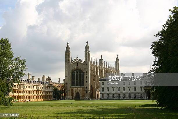Kings College cathedral university architecture Cambridge England