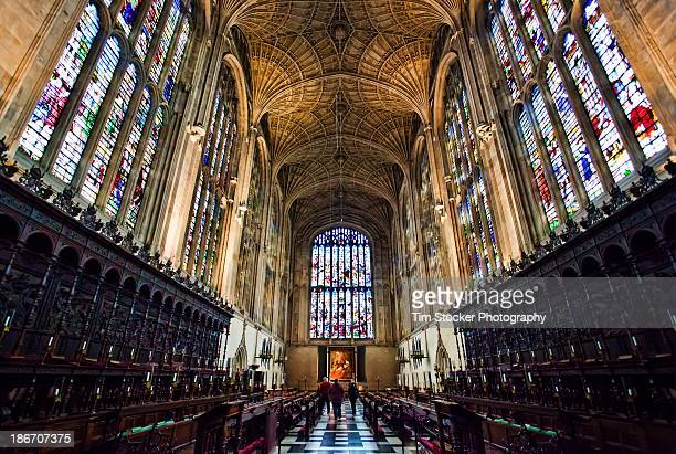 king's college chapel, cambridge - cambridge university stock pictures, royalty-free photos & images