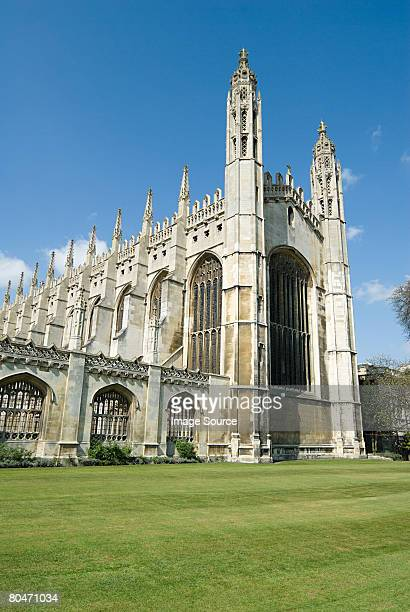 kings college chapel cambridge - cambridge england stock pictures, royalty-free photos & images