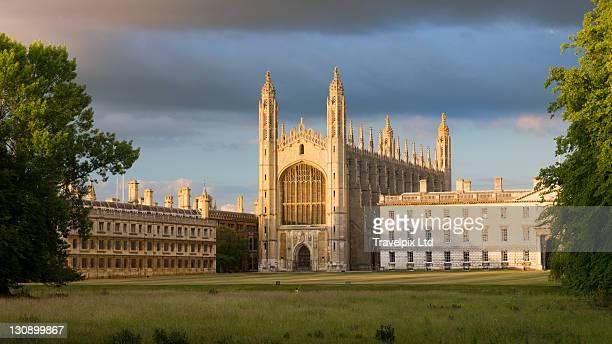 kings college chapel, cambridge, uk - ケンブリッジシャー州 ストックフォトと画像