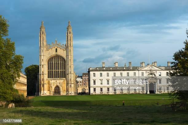 Kings College Chapel, Cambridge University, Cambridge, England.