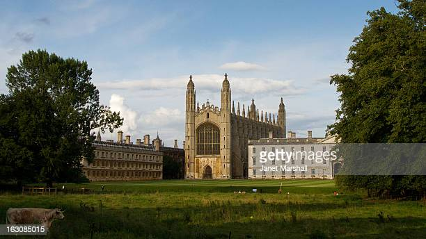 Kings College Chapel, Cambridge, viewed from the meadow
