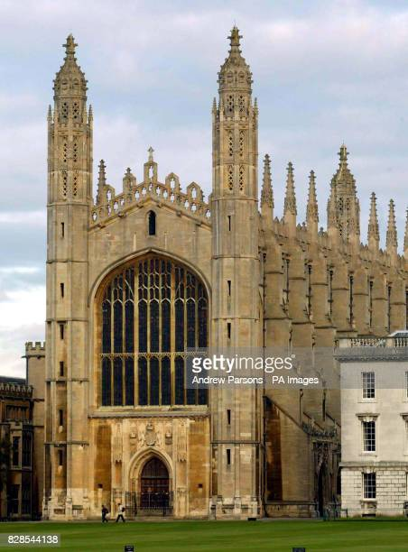 King's College Chapel on the Backs of Cambridge University close to the River Cam *28/12/03 Academics are looking to raise up to 10 million to...