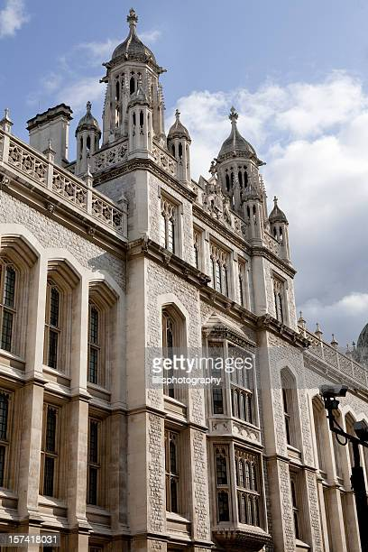 king's college in london england - king's college london stock pictures, royalty-free photos & images