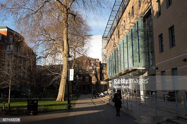 Kings College London campus at Guy's Hospital in Southwark, London, UK. Guy's, King's and St Thomas' School of Medicine is the medical school of...