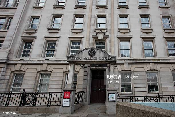 kings college london - king's college london stock pictures, royalty-free photos & images