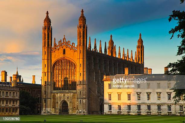 king's college - cambridge stock pictures, royalty-free photos & images