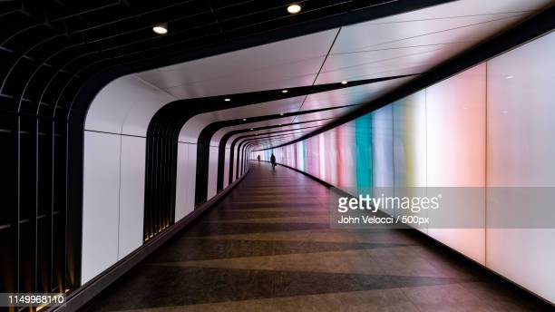 king's cross - tunnel stock pictures, royalty-free photos & images