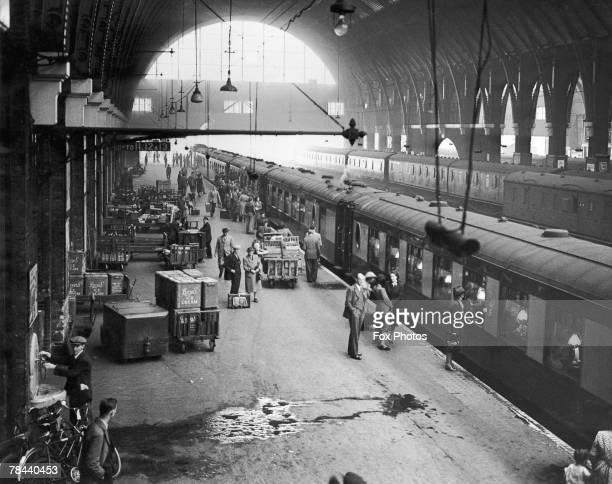 King's Cross Station in London September 1948