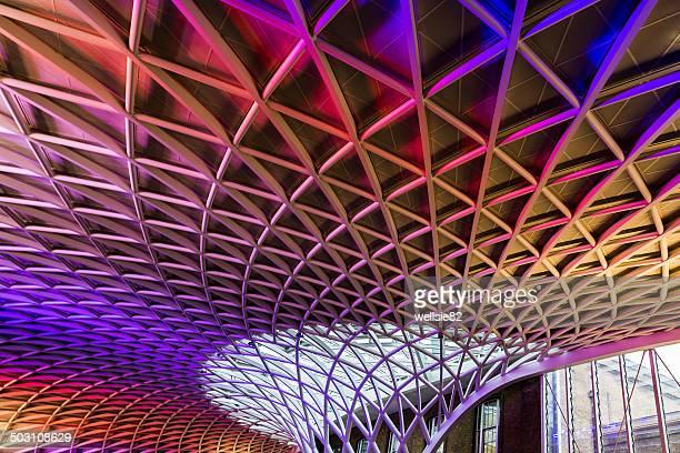 Kings Cross station roof