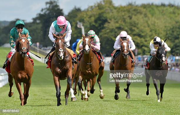 Kings Fete ridden by Ryan Moore Qatar goes on to win The Betfred Gloriuos Stakes during Goodwood Festival 2016 at Goodwood on July 29 2016 in...